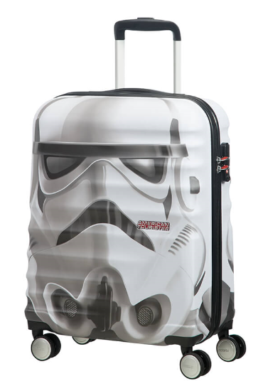 VALISE CABINE WAVEBREAKER DISNEY STAR WARS STORM TROOPER AMERICAN TOURISTER