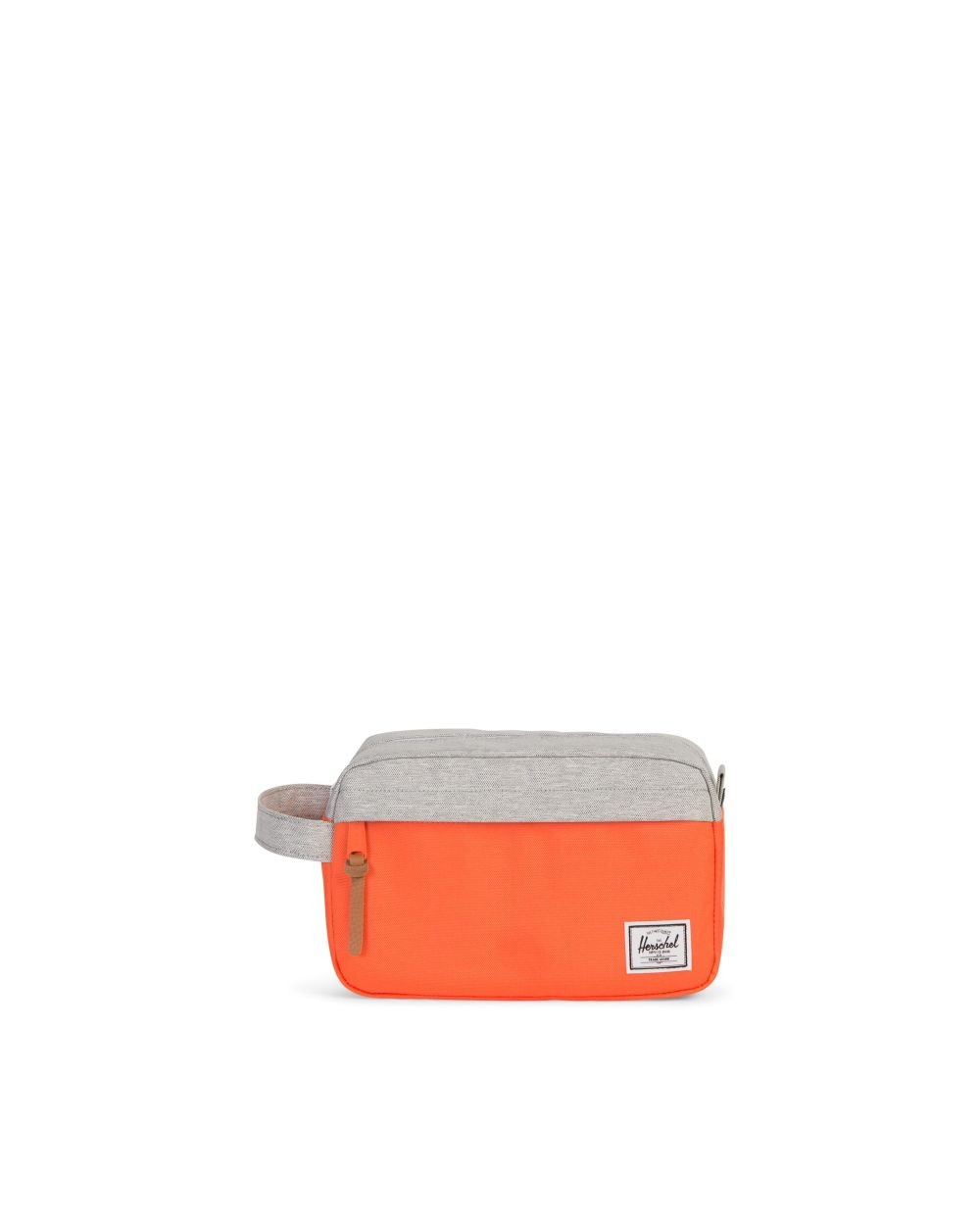 TROUSSE DE TOILETTE CHAPTER ORANGE ET BEIGE HERSCHEL
