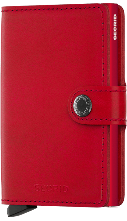 PORTE CARTES MINIWALLET ORIGINAL ROUGE SECRID