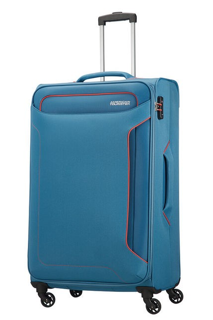 VALISE GRANDE HOLIDAY HEAT BLEU AMERICAN TOURISTER
