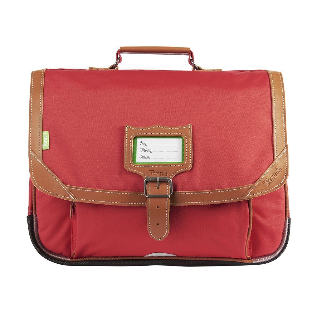 CARTABLE MADRID 38CM ROUGE TANN'S