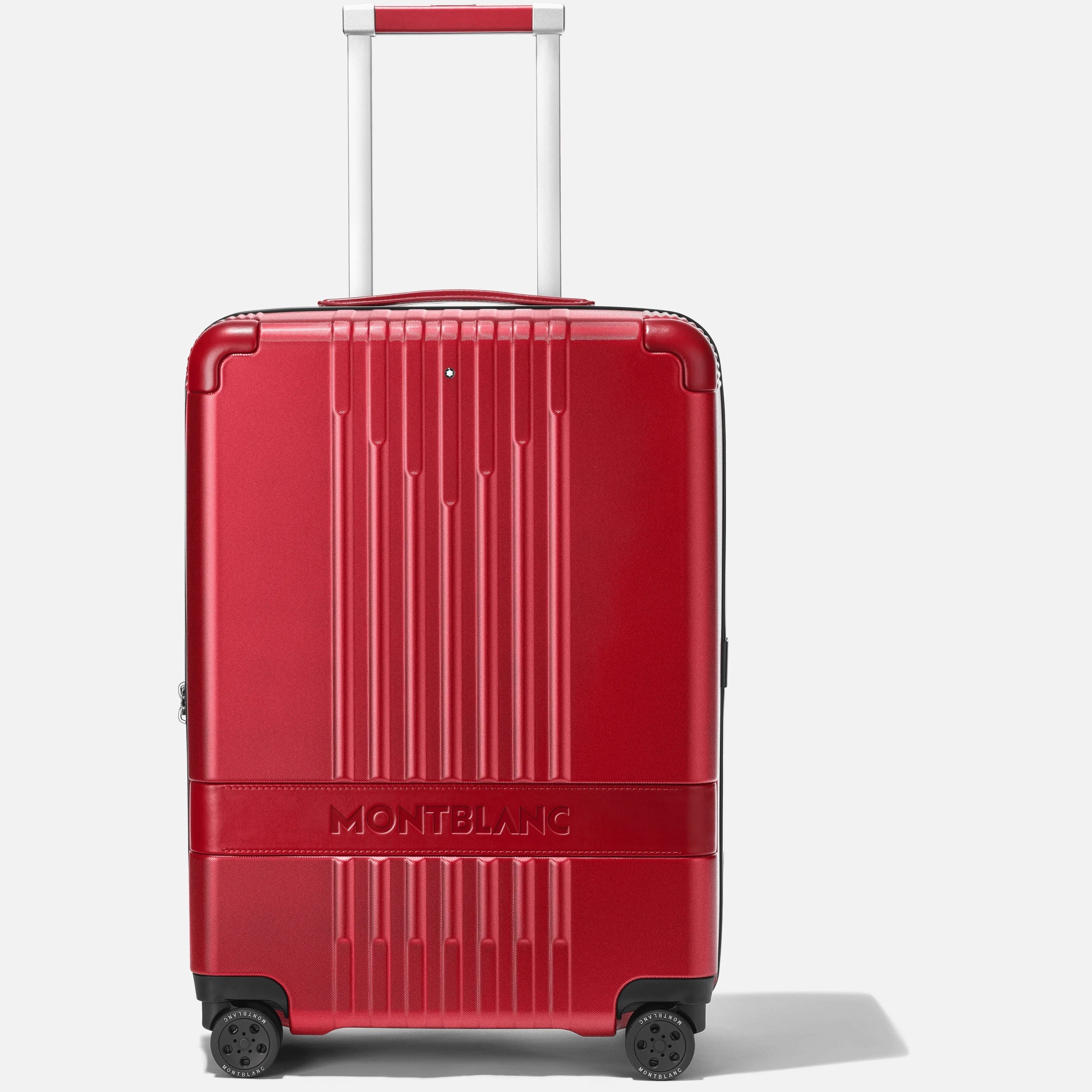 VALISE CABINE 4 ROUES MY4810 MONTBLANC x RED